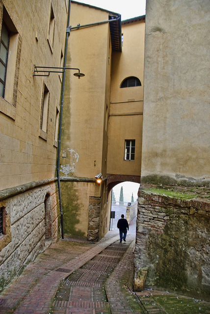 | ♕ |  Medieval gateway of Montepulciano  | by © Julie Richards | via ysvoice