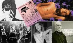 Queercore shows became more than just entertainment — they became places to cruise, to network, to take self-defense lessons. (via Queer to the Core ) Queercore artists oral history/interview at OUT mag. Bruce La Bruce, Kaia Wilson, Vaginal Davis, Tribe 8 etc.