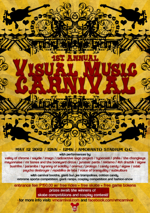Poster Design: Visual Music Carnival