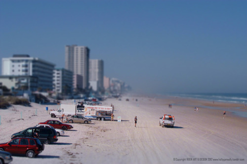 Tilt & Shift #11  Daytona Beach, Florida.  The day I turned 30.
