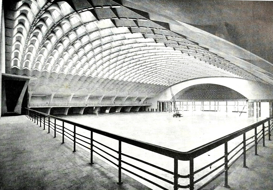 Pier Luigi Nervi & Biscaretti's Exhibition Hall, Turin