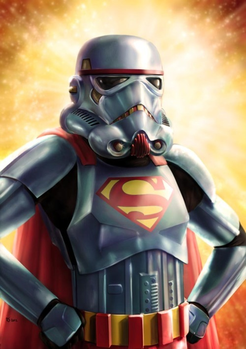 "rawbdz:  ""Super Trooper"" by Robert Shane"