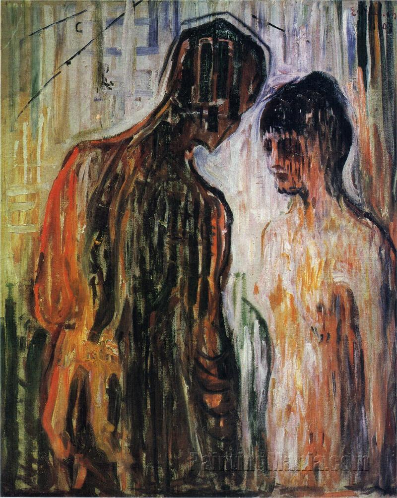 Amor and Psyche, Edvard Munch. 1907, Oil on canvas, 119.5 x 99 cm.