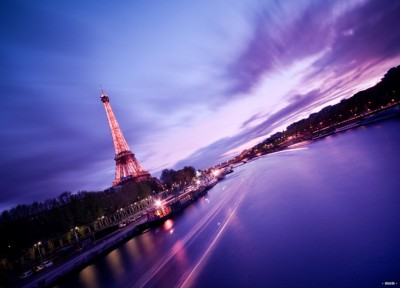 Pink Paris by Alain Wallior
