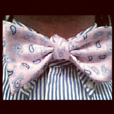 The Bowtie: Part III (Taken with instagram)