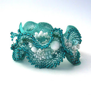 Ibolya made this bracelet, click through for other images.