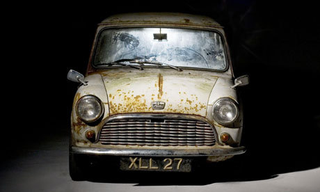 Photograph: Bonhams The Austin Mini Se7en De Luxe - the oldest surviving unrestored mini to go to auction. How old is it and how much is it expected to fetch?