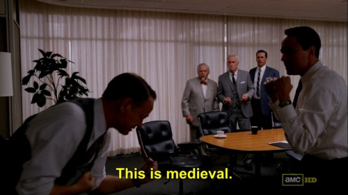 Mad Men/S05E05/Signal 30 (Bert Cooper's words…)