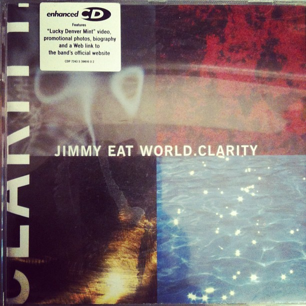 Jimmy Eat World - Clarity on repeat all day = amazing!