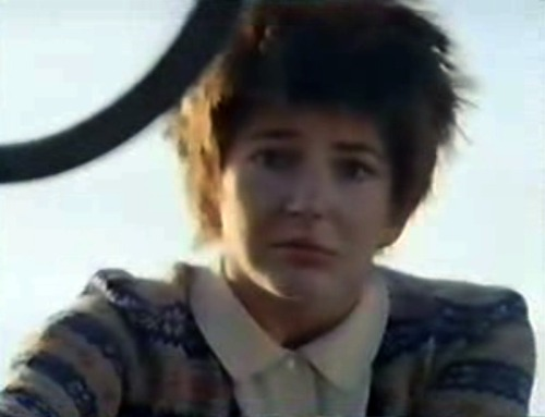 "Reminder: Kate Bush looked like this in the ""Cloudbusting"" video."