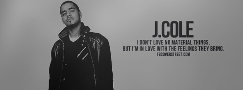 J. Cole Facebook Covers