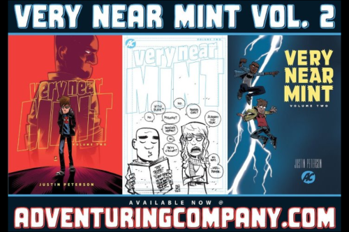 New Comics Wednesday!   VERY NEAR MINT vol. 2 is available RIGHT NOW over at the Adventuring Company store.   What are you waiting for?!  www.adventuringcompany.com