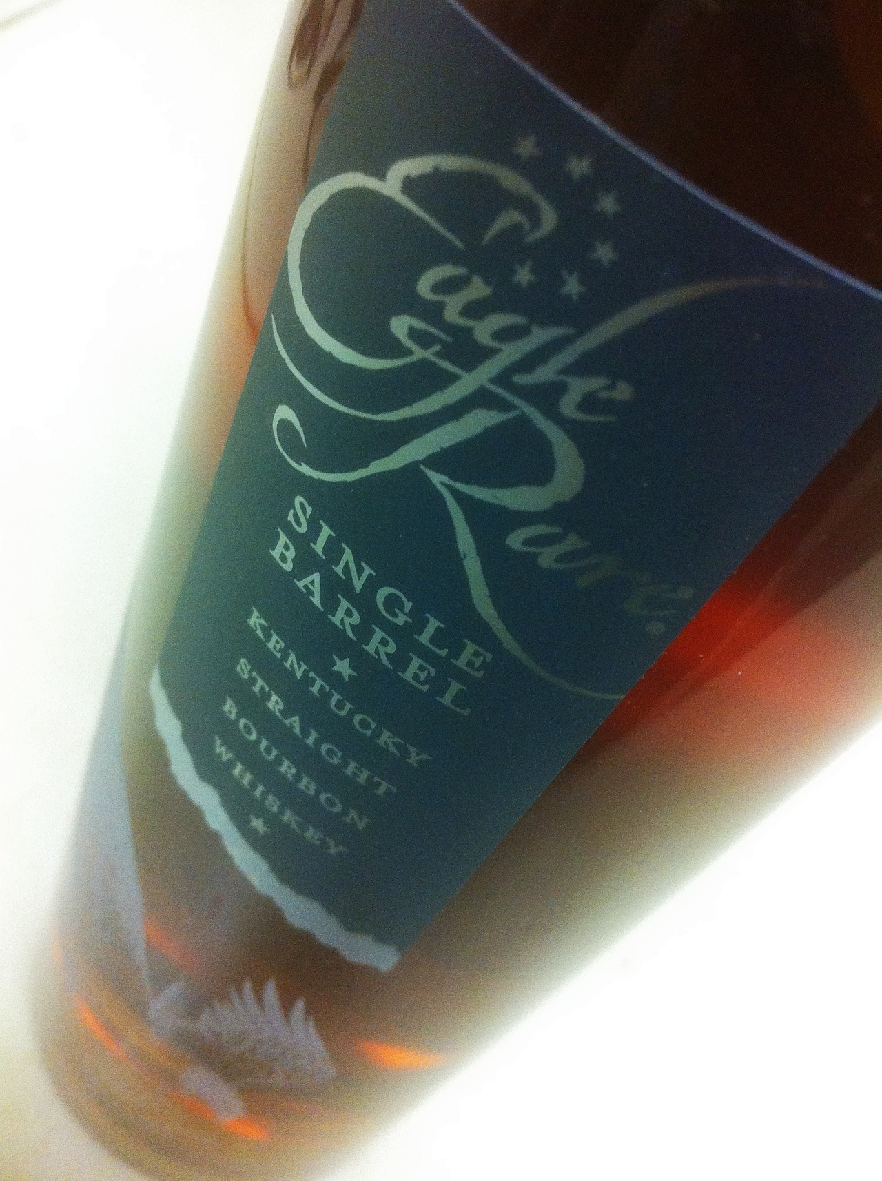 Eagle Rare 10 Year Old Bourbon = liquid awesomeness. Read more about this special bourbon on The Trot Line H E R E >