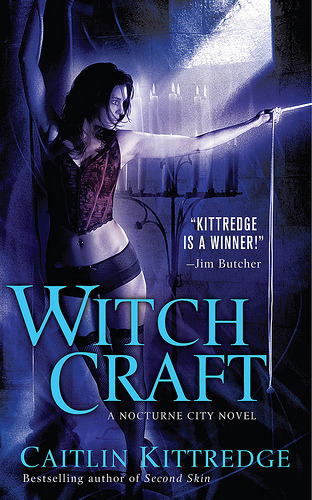 30 Day Book Challenge Day 14: Favorite book by your favorite writer?  Witch Craft by Caitlin Kittredge