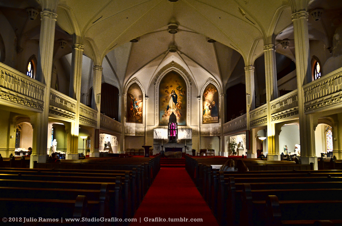 St Mary's Cathedral, San Francisco, CA | © 2012