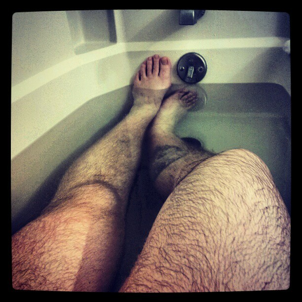 I can take sexy bathtub photos too.  (Taken with instagram)