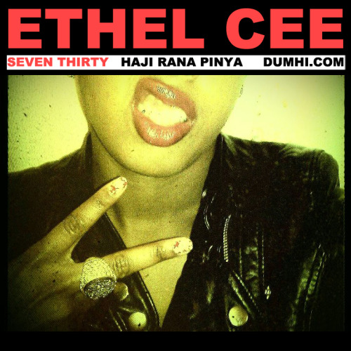 "[NEW MUSIC} ""Seven Thirty"" by Ethel Cee x Dumhi; Philly's own Dumhi and Ethel Cee team up again to give us this gem. Haunting, rugged samples laced with topical, narrative lyrics by female MC Ethel Cee in movie-like fashion. JUST grabbed this today and I'm not in the business of writing full reviews, but Dumhi is my man and I support good music. Give this a play when you get a chance. Well worth the $5 donation they ask for download."