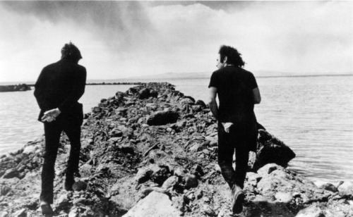 lajetee:  Robert Smithson and Richard Serra, 1970