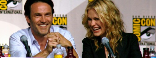 "Anna Paquin, Stephen Moyer Expecting Their First Child True Blood co-stars Anna Paquin (Sookie) and Stephen Moyer (Bill) are expecting their first child! The real-life husband and wife are ""overjoyed,"" E! News reports. More on the news here"