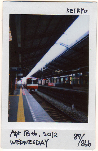 ★36 Project★ 087/366 on Flickr.KEIKYU LINE in this morning.  今朝の京急。