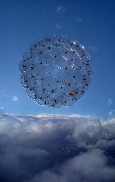 mreisenhower:  Sunny Day / Airport City / Tomás Saraceno