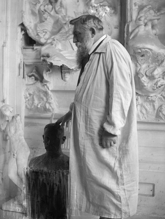 artistandstudio:  Auguste Rodin (1840-1917) at Meudon in 1905 by Gertrude Käsebier