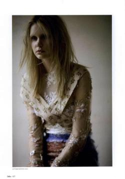 Rodarte for Lula Magazine shot by David Armstrong