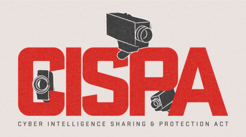 onaissues:  What is CISPA, the Cyber Intelligence Sharing and Protection Act? The Electronic Frontier Foundation has put together an infographic that shows their concerns with how the bill works.  See the bill and its amendments here.