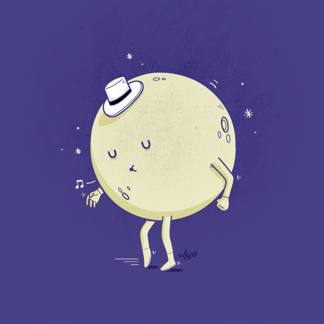 Moon Walking —- Nabhan Abdullatif Gallery , Facebook , Twitter , Tumblr