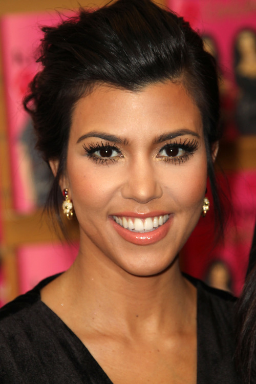Kourtney Kardashian's beauty evolution