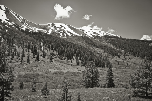 ROAD TRIP image no. 397 Descending from the Continental Divide on US 82, Colorado July 2nd, 2011 Mark Peter Drolet + click through to see larger