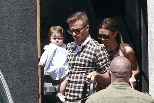 I'm so proud! Harper Beckham has finally perfected the disapproving scowl I've been training her on for months. I wonder what provoked it — annoying paparazzi? A tardy car service? Unmet brunch expectations? We've all been there.