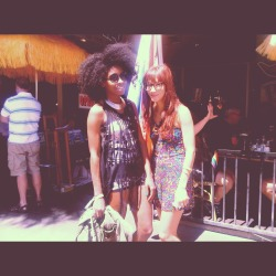 Rinny and Minnie last day of Coachella weekend 1