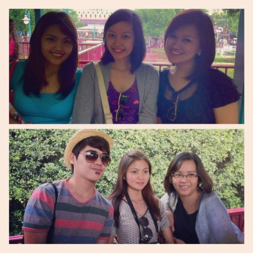 The group ❤✈🚗 #Disneyland #picstitch (Taken with Instagram at Chungking Mansions)