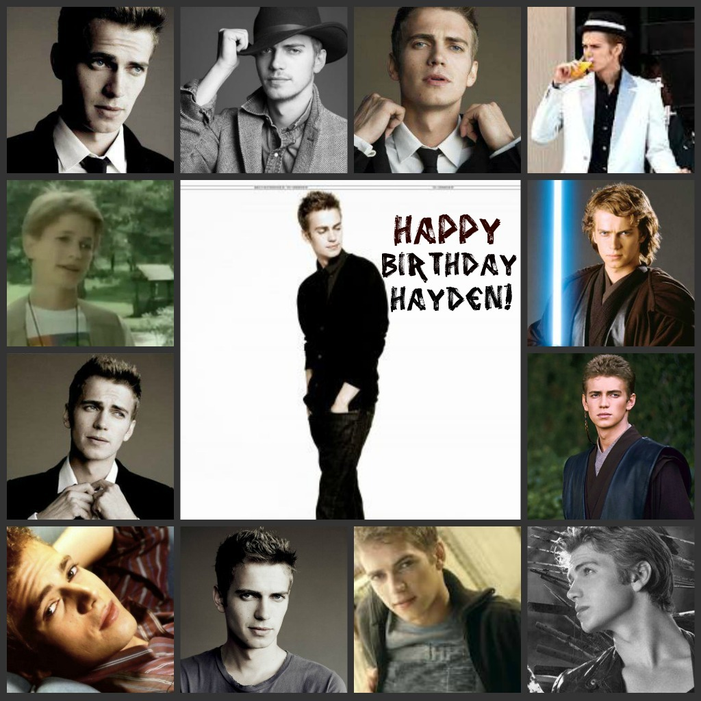 trix07:  Happy Birthday Hayden Christensen!!! :)  he is so handsome