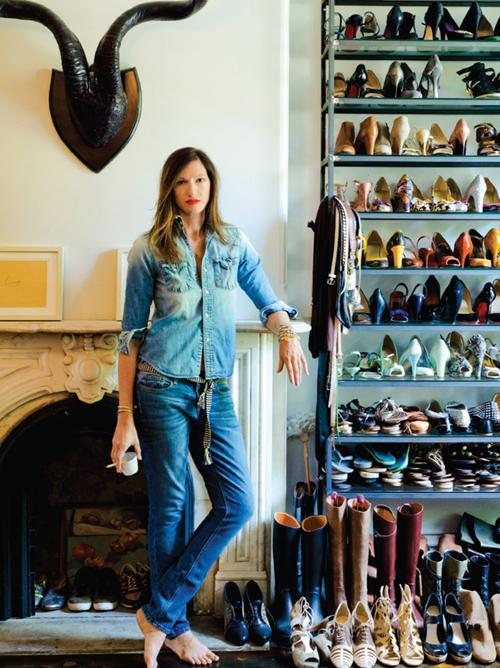 Jenna Lyons by Claiborne Swanson Frank for her new book, American Beauty.
