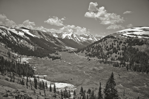 ROAD TRIP image no. 400 Descending from the Continental Divide, Colorado July 2nd, 2011 Mark Peter Drolet + click through to see larger