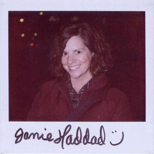 portroids:Janie Haddad- Because @janiehaddad is always wonderful.