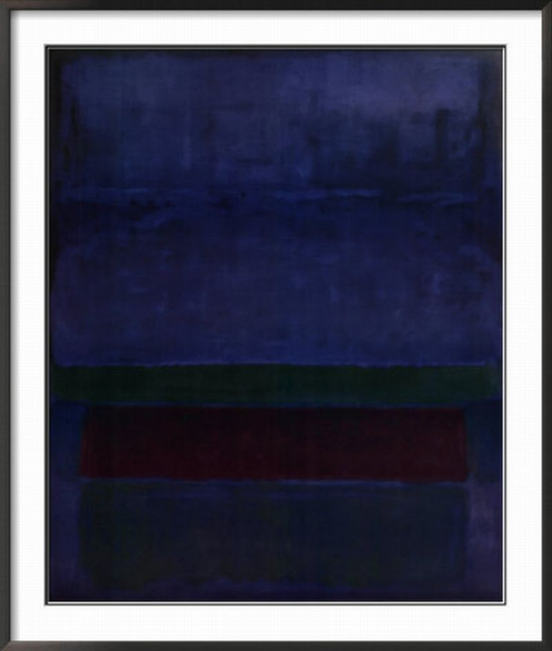 Blue, Green, and Brown    by Mark Rothko [+]