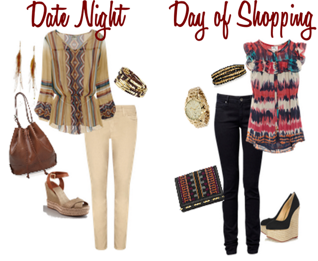 Are you into the tribal patterns this season? Check out today's post to make it work for your wardrobe! http://bit.ly/J33oCr