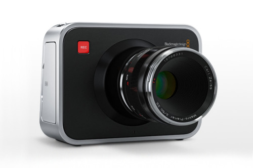 BLACKMAGIC CINEMA CAMERA  In a world that is now dominated by digital filmmaking, the cinema spectrum has gotten more diverse with this new camera by Blackmagic Designs. The Blackmagic is a hand-held cinematic camera with innovative and impressive features. RED cameras and the soon to be released C300 cost a pretty penny, and at far beneath the five figures required for such hardware, this new camera features a high-resolution 2.5K image sensor and 13 stops of dynamic range. That means with the convenience of EF and ZE mount lens compatibility which will let you use your Canon or Carl Zeiss lenses, this will be a dream come true for filmmakers on a budget who want professional quality video. The camera will be released this July for around $2,995, and has many more interesting specs which you can see by clicking the image above.