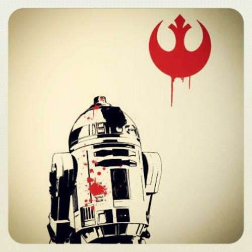 R2xD2 (Taken with instagram)