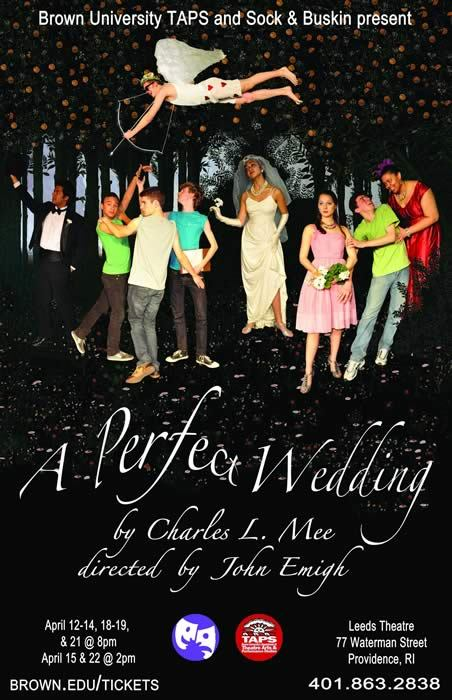 Cool Things To Do At Brown: A Perfect Wedding is a rollicking comedy about love, romance, marriage, and death. Fleeing to the forest to escape his impending wedding, the groom finds himself, and everyone else, lost in a thicket of shifting and unpredictable desires. Everything falls apart, only to come back together in unexpected ways after two gay wedding planners save the day. Throughout the play the diverse and eccentric cast of characters couple and decouple, confront the specter of death, fall in and out of love, and in the process challenge the conventions both of theatre and of marriage. The show is a little long, but totally worth it. On Thursdays, freshman get in for free! It's definitely a show worth seeing, and they only have a few performances left. Hurry and see it before it ends!