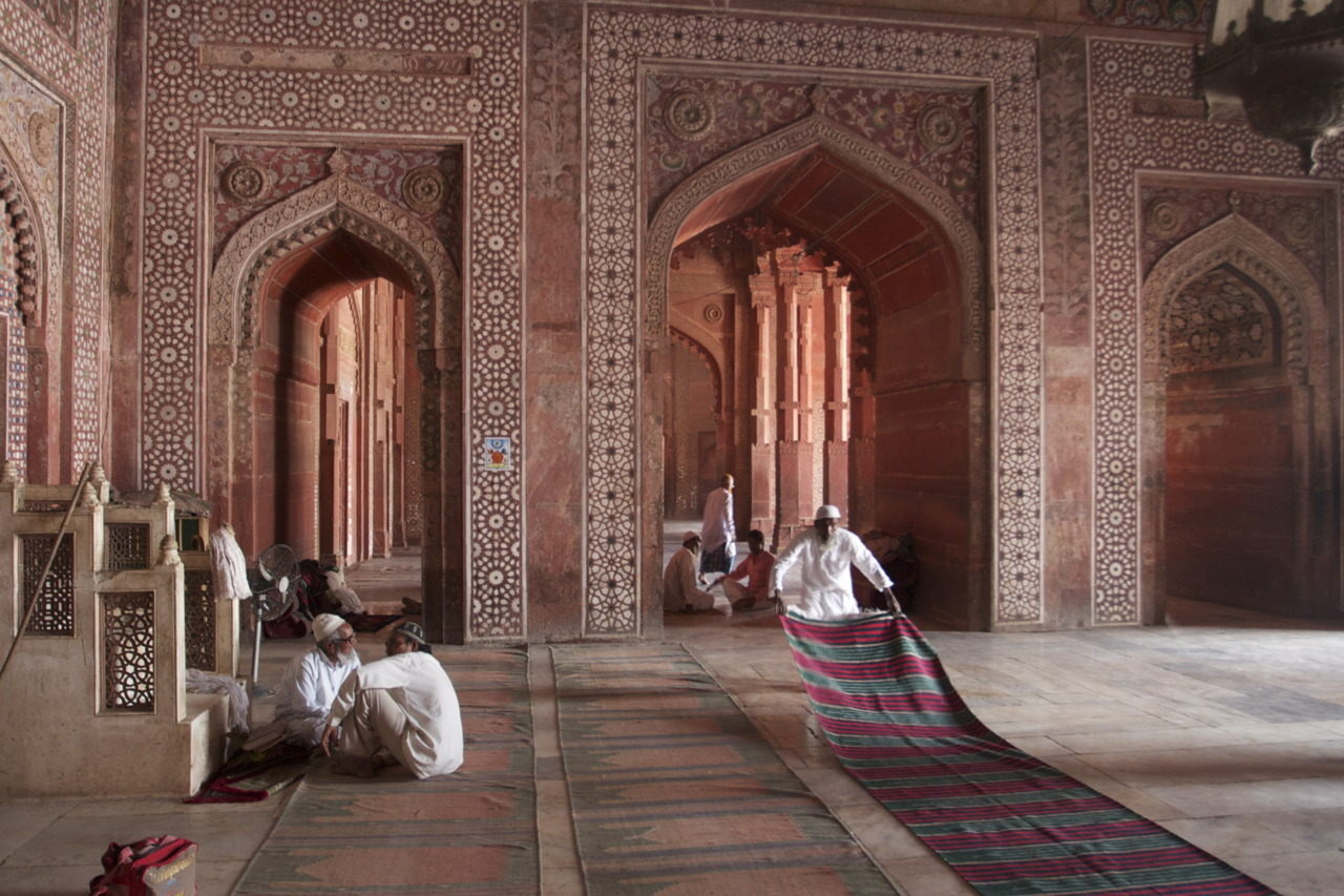 delhiunderbelly:  Fatehpur Sikri, the Emperor Akbar's abandoned capital, UP, India.