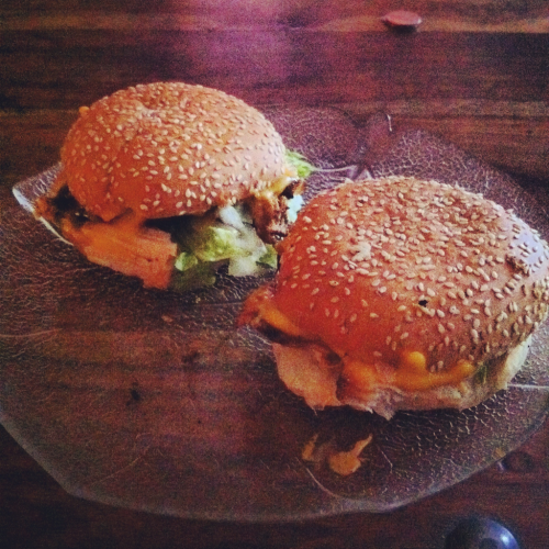 Chickenburger OM NOM NOM NOOOO