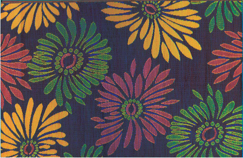 MARKET PREVIEW: The Daisy rug from Mariachi Imports. High Point Market showroom: Suites at Market Square G-3029