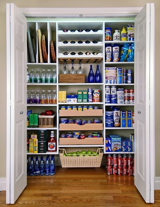 thingsorganizedneatly:  Pantry Organization