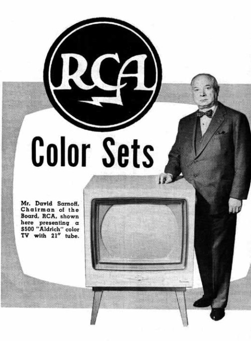 RCA color sets