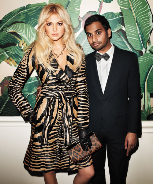 styleite:  AZIZ. (And Kate.)
