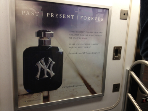 Wear Yankee cologne. Smell like a douche.
